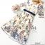 ชุดเดรสเกาหลี พร้อมส่ง เดรสยาว ลายดอกไม้ thumbnail 7