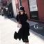เดรสเกาหลี พร้อมส่ง Dress ผ้าซาติน thumbnail 8