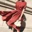เดรสเกาหลี พร้อมส่ง Dress ผ้าซาติน thumbnail 12