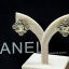 พร้อมส่ง ต่างหู Chanel งานเพชร CZ แท้ thumbnail 2