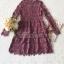 เดรสเกาหลี พร้อมส่ง เดรสผ้าลูกไม้ ลายดอกเดซี่ thumbnail 18