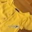 เสื้อผ้าเกาหลี พร้อมส่ง เสื้อคร็อปสั้นและกระโปรงสีเหลือง thumbnail 13