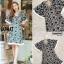 ชุดเดรสเกาหลี พร้อมส่ง Maxi dress ผ้าลูกไม้ thumbnail 7