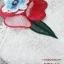 ชุดเดรสเกาหลี พร้อมส่ง Maxi Dress สายเดี่ยว แต่งดอกไม้ thumbnail 3