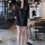 เสื้อผ้าเกาหลี พร้อมส่ง สูทตัวยาว ผ้าเนื้อดี thumbnail 6
