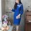 ชุดเดรสเกาหลี พร้อมส่ง Dress ลูกไม้แขนชีฟอง thumbnail 10