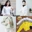 เสื้อเกาหลี พร้อมส่ง แจ็กเกตยีนต์ สีพื้น thumbnail 6