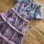 เดรสเกาหลี พร้อมส่ง เดรสผ้าลูกไม้ ลายปะการังสีพาสเทล thumbnail 13