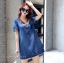 พร้อมส่ง DRESS JEAN FROM KOREA thumbnail 8