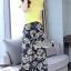 เสื้อผ้าเกาหลี พร้อมส่ง เสื้อสีพื้นเอวไขว้ กับ กางเกงขากว้าง thumbnail 10